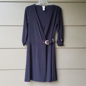 Cache Wrap Dress